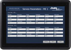 Insatech Performance Monitoring System - Service Parameters